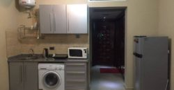 Fully furnished and equipped studio with private beach in a hotel 5*