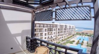 Fully furnished sea view apartment, private beach