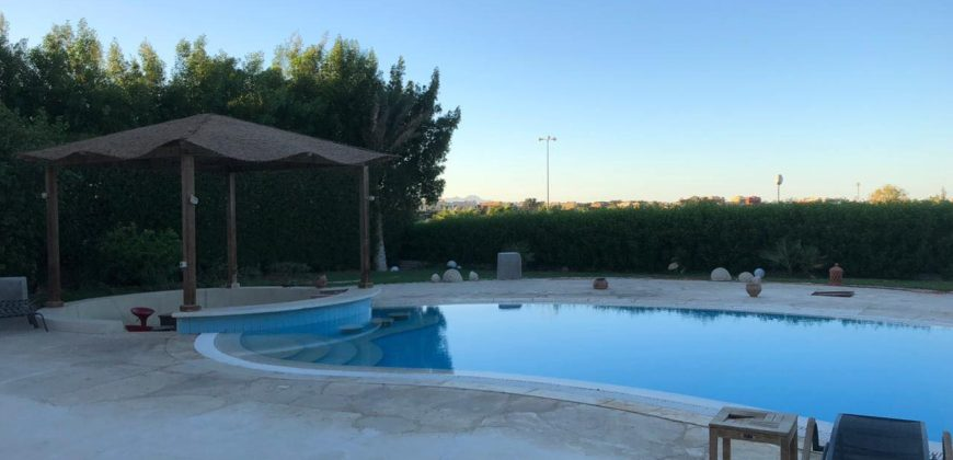 Spacious house 2100m with amazing view in El gouna