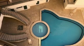 1-bedroom apartment in the compound with swimming pool