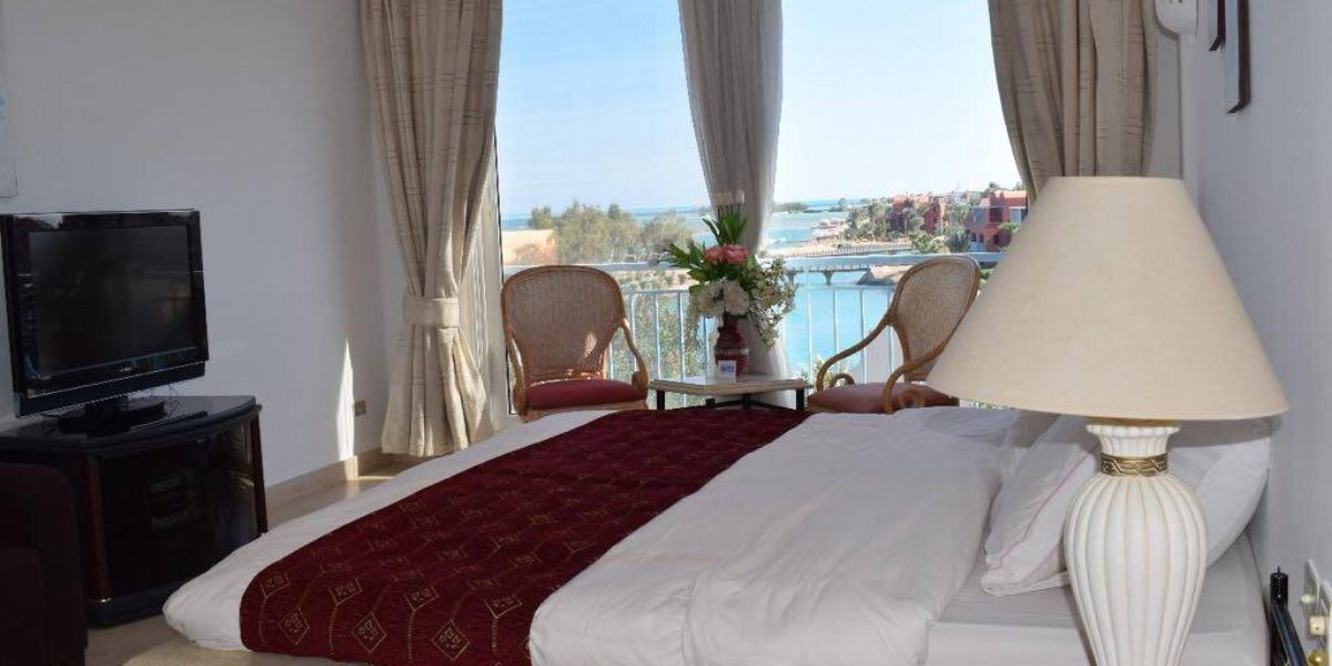 Penthouse in the marina El Gouna next ocean view hotel side sea view with a private pool