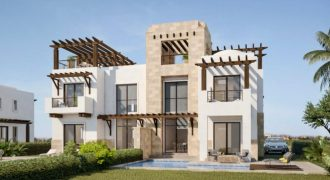 TWIN VILLA IN ANCIENT SANDS