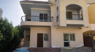 Villa in Mubarak 7 area with finishing