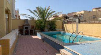 Furnished villa with private pool in Mubarak-7 area