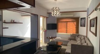 Furnished 2-bedroom apartment in Mubarak 5 area