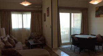 2 bedrooms apartment with 2 balconies in a residential compound in the city center