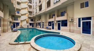 Cozy furnished studio in Tiba Paradise compound
