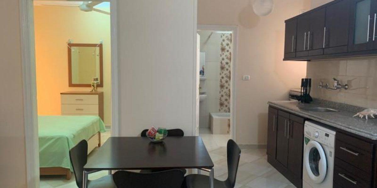 2-bedroom/2-balcony apartment in Hurghada